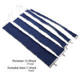 熱く粋な方法宝石類の銀の女性のための青いふさのジーンのチョークバルブのネックレス