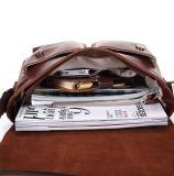 2017の熱い販売の良質の人のイタリアの革メッセンジャー袋