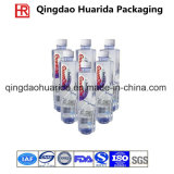 Étiquettes de rétrécissement de Pet/PVC pour des bouteilles et des bidons avec l'impression colorée