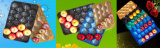 Europa Market Hot Selling 29X39cm, 29X49cm, 39X59cm Colorful Perforated Alveolar pp. Tray mit Factory Price