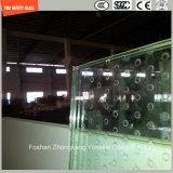 不規則な緩和された曲げられた構築ガラス