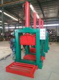 Machine de découpage de pneu de type vertical coupeur de feuille en caoutchouc