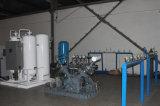 Cilindros de oxígeno de llenado de la máquina
