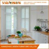 Moderne weiße Sicherheits-hölzerner Fenster-Plantage-Blendenverschluß von China