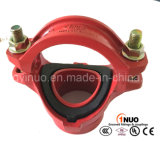 Raccordo a T meccanico Grooved del ferro duttile di alta qualità FM/UL/Ce