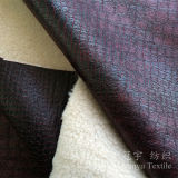 Composé Home Textile Fabric Foil Print Suede pour Sofa Covers