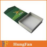 Rectángulo de regalo de papel de empaquetado hecho a mano impreso modificado para requisitos particulares con espuma