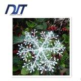 11cm Copos de nieve al por mayor del copo de nieve de la Navidad Copos de nieve del árbol de navidad