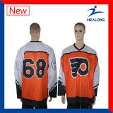 Hockey sobre hielo de la impresión de la sublimación de Healong Jersey
