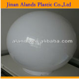 Clear White Acrylic Goble Acrylic Sphere