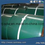 光沢のある電流を通された金属の鋼鉄コイルシートの熱い販売