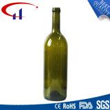 Frasco de vinho de vidro do licor o mais atrasado da alta qualidade do projeto (CHW8065)