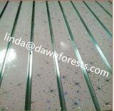7 en 11 Grooves MDF Board van pvc Faced Slot met Aluminum
