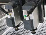 router di CNC delle 1325 2 teste, mobilia che fa macchinario, falegnameria di CNC del router con il cilindro dell'aria