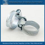 Braçadeiras de tubulação de aço galvanizadas do parafuso da exaustão U