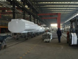 Marca china 3 Eje líquido del tanque semi-remolque