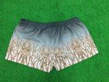 La sublimazione su ordinazione unisex di Healong mette in mostra gli Shorts casuali della spiaggia