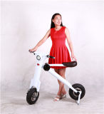 Facilmente motorino elettrico pieghevole piegante della bici di mini mobilità della maniglia che piega bici elettrica