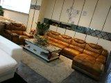 Nueva llegada Sofá de cuero moderno, Europa del sofá del estilo (A62)