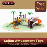 1176 enfants dignes de confiance plastique en plein air Aire de jeux pour le parc (X1229-5)