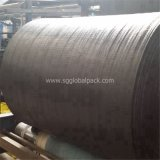 Tissu en gros de géotextile tissé par pp du noir 90GSM