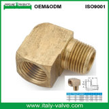 Brass Forged EUA tipo 90 grados feminino cotovelo / Flare Fitting (IC-9094)