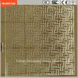 blanc de 4.38mm-52mm/gris clair/bleu/jaune/PVB en bronze, verre feuilleté de Sgp avec le certificat de SGCC/Ce&CCC&ISO pour la balustrade, partition, frontière de sécurité