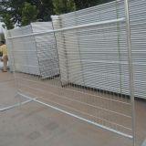 Parte superiore di rullo che recinta, recinzione diritta libera, rete fissa provvisoria