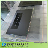 4mm-6mm Toughened Clear Float Decorative Glass Panel pour Range Hood (pièces d'appareil ménager)