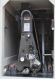 Machine de sablage de courroie large de deux têtes