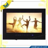 Cuarto de baño LED impermeable TV de 15.6 pulgadas en el color negro T156fn