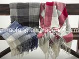 Сплетенные мягкие Washable акриловые одеяла хода