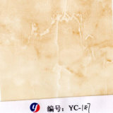 Мрамор травертина ширины Yingcai 1m напечатал пленку переноса воды