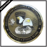 Personalizzare Souvenir Coin con Diamond Edge con Epoxy (BYH-10852)