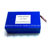 24V 20ah LiFePO4 Battery pour 200W Golf Trolley