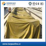 Tela laminada PVC de encerado do preço de boa qualidade baixa para a tampa do caminhão