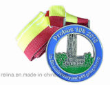 Soft su ordinazione Enamel Sport Race Awards Medal con Ribbon