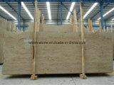 Jura beige piedra caliza mármol chimenea baldosas encimeras de losas para la venta