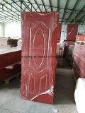 Puerta de madera del PVC de la alta calidad de encargo para el mercado árabe