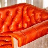 (CL-4401) Ganascia di legno dell'alta barra dell'hotel del ristorante del cuoio antico della mobilia