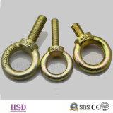 Noix de levage galvanisée jaune de l'oeil JIS1169 pour le matériel de calage
