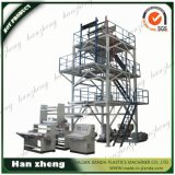 Máquina que sopla multi 55-2-65-1-2200 de la película plástica del PE de la capa de la coextrusión de tres capas