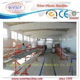 Изготовление окна вспомогательного цены профиля PVC UPVC автоматическое делая линию