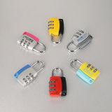 Cadeado de alumínio 3 Digital do código da combinação da segurança do agregado familiar mutável