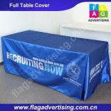 Logo de Custom Company de qualité tissu de Tableau de polyester de 6FT ou de 8FT, couverture de Tableau