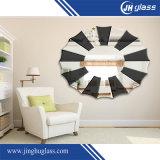 예술 장식적인 주문 미러 또는 벽 미러 또는 미러 또는 단 하나 이중 코팅 명확한 알루미늄에 의하여 입히는 미러 또는 은 미러 또는 목욕탕 미러를 옷을 입는 가구 미러 또는 메이크업