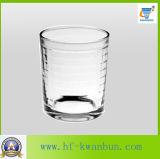 明確なガラスコップのガラスタンブラーのワインのコップのKbHn0266
