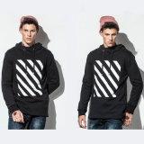 체조 착용 제조자 인쇄를 가진 연약한 면 스웨터 남자의 Hoodie