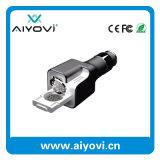 Chargeur duel de véhicule de la qualité initiale USB d'innovation avec le parfum intrinsèque