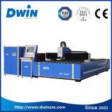 Découpage de laser de fibre de carbone de feuillard de commande numérique par ordinateur/acier inoxydable/prix machine de coupeur